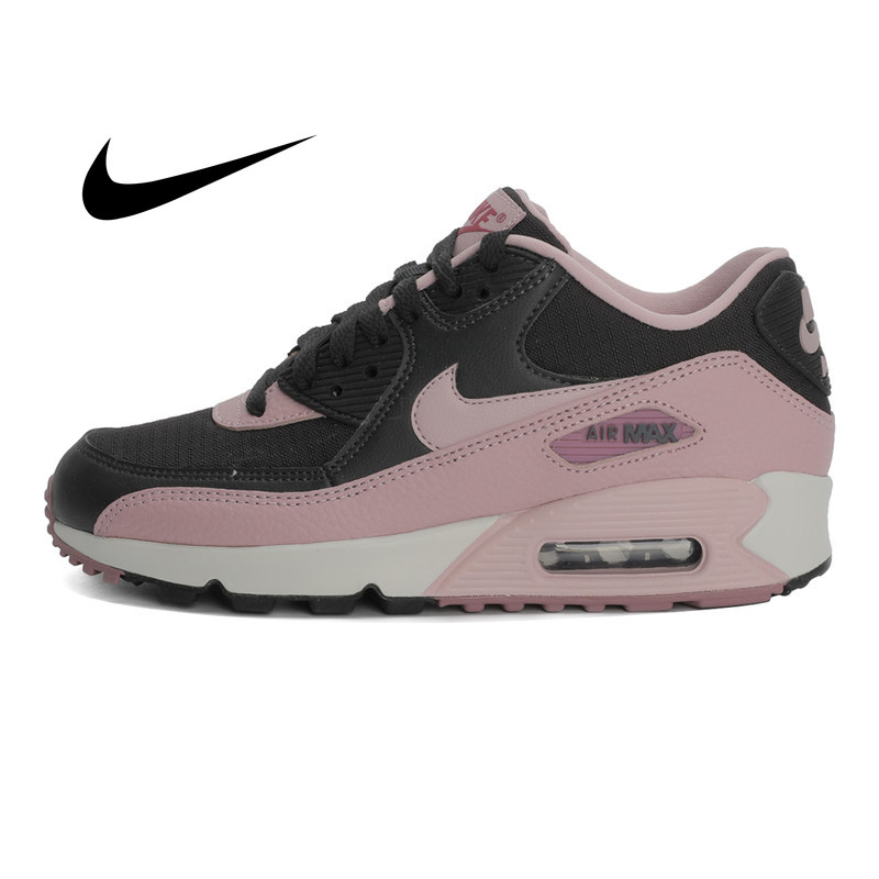 Original 2018 NIKE WMNS AIR MAX 90 Women's Running Shoes Sneakers Breathable Cushioning Nike Shoes Women Outdoor Walking 325213 image