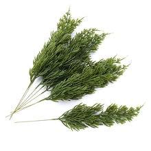 6 шт декоративные зеленые листья для украшения дома