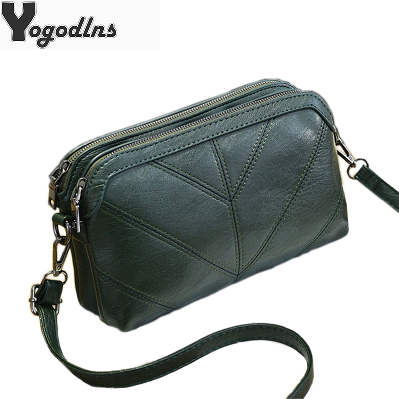 2020 High Quality Women Handbag Luxury Messenger Bag Soft pu Leather Shoulder Bag Fashion Ladies Crossbody Bags Female Bolsas|Shoulder Bags|...