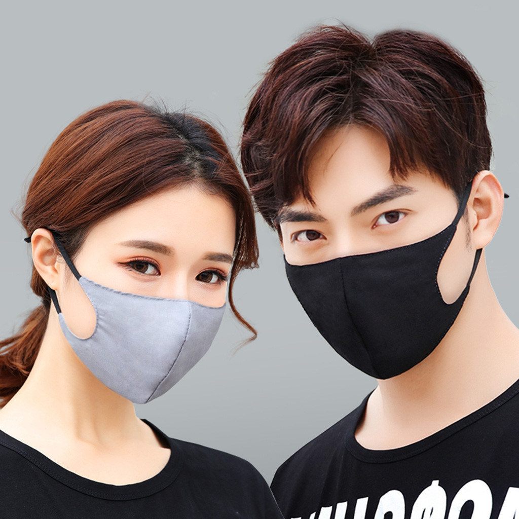 Breathable  Mouth Mask Unisex Outdoor Travel Protection Face Mask Reusable Anti Pollution Face Shield Wind Proof Mouth Cover