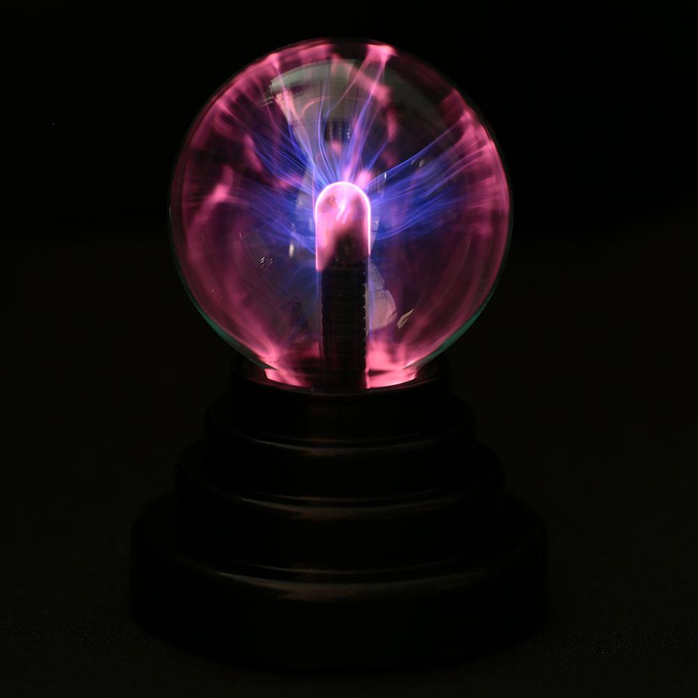 USB Plasma Sphere Lightning Lamp Lights Glass Ball Decoration Party Vintage