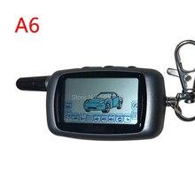 A6 A6 10 ピース/ロットロシア液晶リモートキーチェーンスターライン