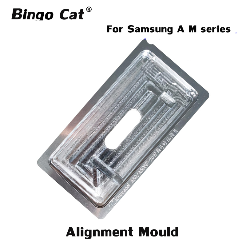 1pc Precision Aluminium Position Alignment Mould For <font><b>Samsung</b></font> A600 A720 A750 A10 A20 A30 A40 A50 A60 <font><b>A70</b></font> A80 <font><b>LCD</b></font> Screen Repair image