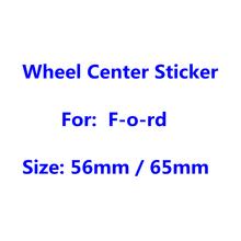 4 шт. 56 мм 65 мм авто колеса Кепки Стикеры автомобиля Средства для укладки волос обода крышка с защитой от пыли бейдж Логотип эмблема наклейка