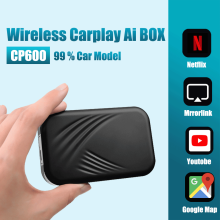 Carplay Box 2 + 32G Car Multimedia Player Ai Box Wireless Mirror Link Car-Play USB TV Box sistema Android CP600
