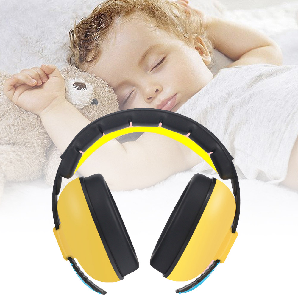 Baby Children Earmuffs Noise Cancelling Ear Hearing Protection Headphones Durable Sleep Ear Defenders Earmuffs For Boys Girls