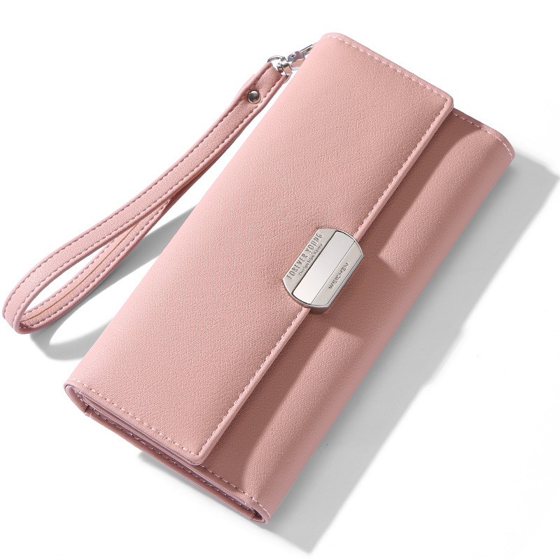 WEICHEN Women's Wallet-long  Large-capacity  Large-capacity Handbag Fashionable Mobile Phone Wallet  Women's Wallet
