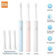 Xiaomi Mijia T100 – brosse à dents électrique sonique Mi Smart, colorée, Rechargeable par USB, étanche IPX7, pour tête de brosse à dents