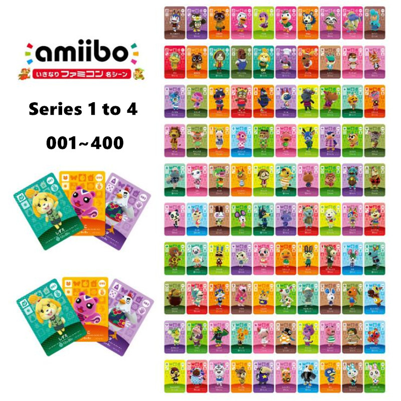 Animal Crossing <font><b>Amiibo</b></font> <font><b>Card</b></font> New Horizons for NS games Amibo <font><b>Switch</b></font>/Lite <font><b>Amiibo</b></font> <font><b>Card</b></font> <font><b>NFC</b></font> Welcome <font><b>Cards</b></font> Series 1 To 4 image