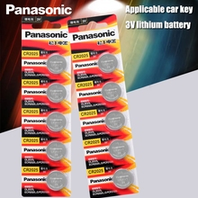 Cell-Batteries Watch Button Calculator-Weight-Scale Lithium-Coin-Battery Panasonic 10pcs/Lot
