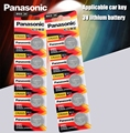 Panasonic оригинальный cr2025 аккумуляторы таблеточного типа 10 шт./лот cr 2025 3V литиевая батарея для мобильного часо-калькулятор весовая шкала