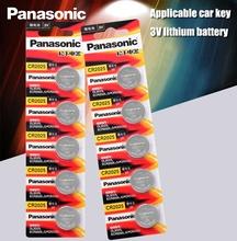 Panasonic Original cr2025 Knopfzellen 10 TEILE LOS cr 2025 3V Lithium-Münze Batterie Für Uhr Rechner Gewicht Skala cheap JP (Herkunft) 150mah 20*2 5mm Li-ion