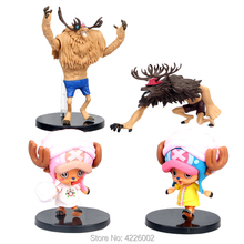 цена на Anime One Piece Tony Tony chopper PVC Action Figures DXF 15th Japanese Collectible Model Figurine Dolls Kids Toys for Children