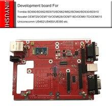 Placa de desenvolvimento/evb/evk/placa base com bluetooth para gps rtk gnss trimble bd990 bd992 bd970 bd982 mb2 bd940 bd930 bd910