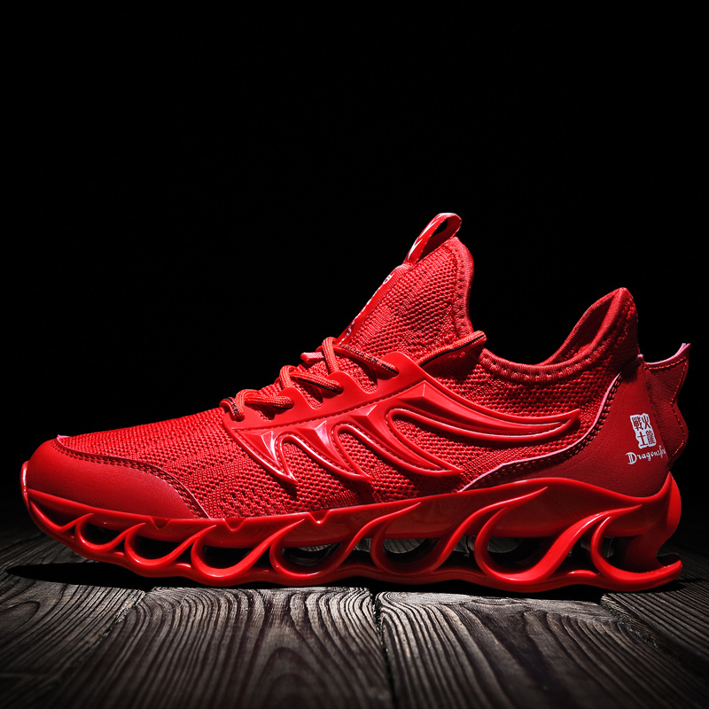SENTA New Blade Running Shoes For Men Antiskid Damping Outsole Men Athletic Training Run Sneakers Breathable Runing Zapatills