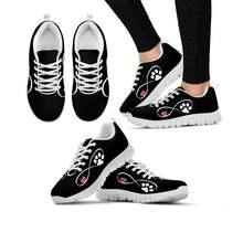 Elviswords/Женская обувь с принтом в виде лапы и следа; фирменный