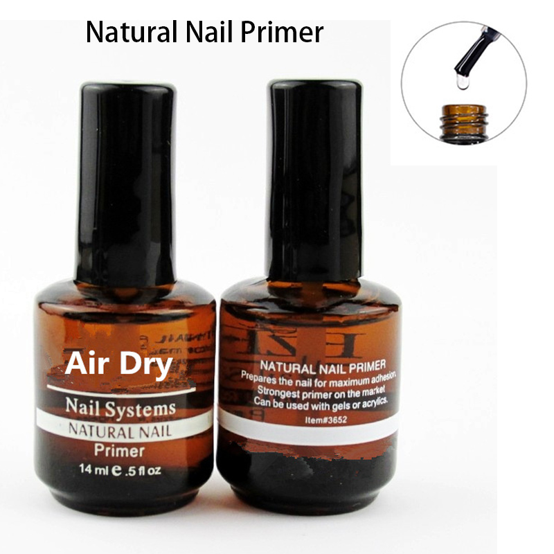 14ML Nail Primer Polygel No Acid Fast Dry Professional Nail Systems Primer For Nails Dehydrator Prep Acrylic Gel Base Coat Art