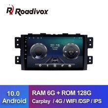 "9 ""Android 10,0 RAM 4G ROM 64G Für Kia Borrego Mohave 2008 2012 auto dvd gps navigation radio multimedia player stereo kopf einheit"