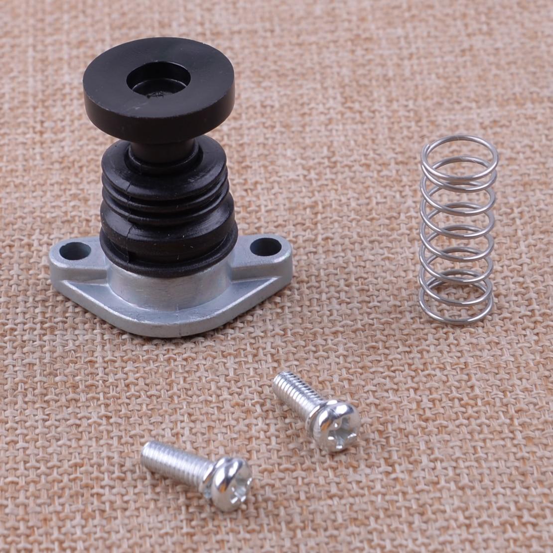 CITALL 4pcs Carb Carburetor Primer Pump Screw Spring Kit Fit For Honda ATV TRX300 TRX350 TRX500 TRX450