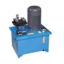 Однонаправленный гидравлический цилиндр с электрической гидравлической