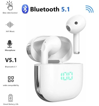 New V5.1 TWS Wireless Bluetooth earphone Headsets Earbuds 9D Stereo With Microphone For Iphone Samsung Xiaomi Huawei