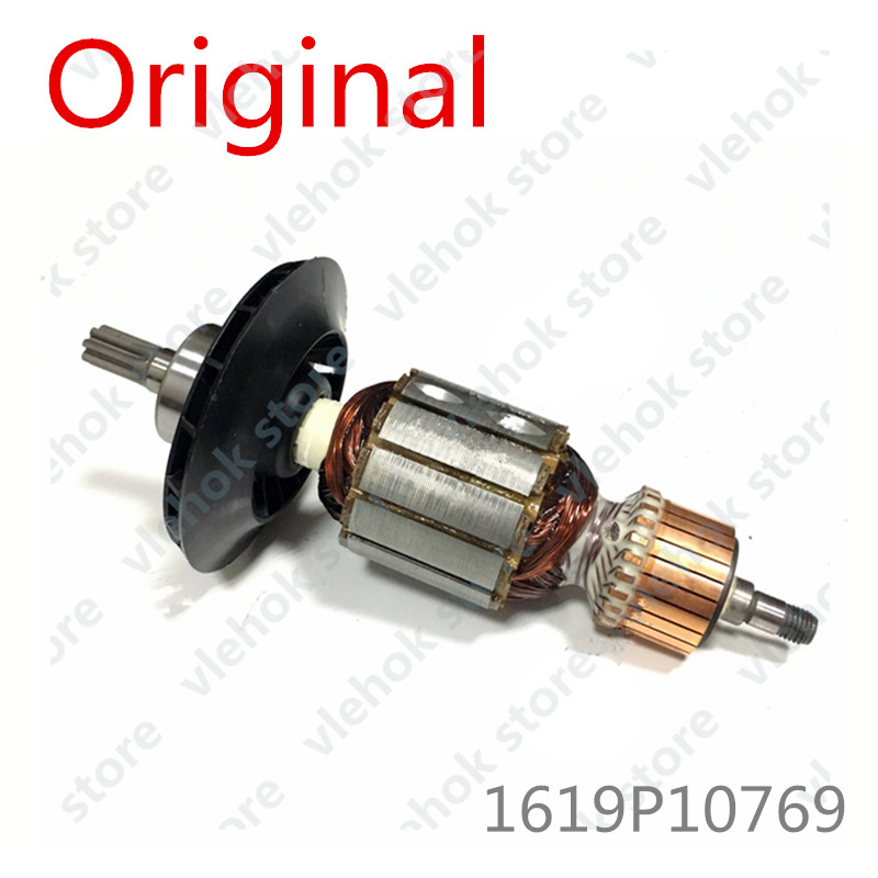 220-240V Armature Rotor For BOSCH GBH5-40 GBH 5-40 5-40D GBH5-40D GBH5-40DE GBH5-40DCE GSH5E GSH5CE 1619P10769 Power Tool