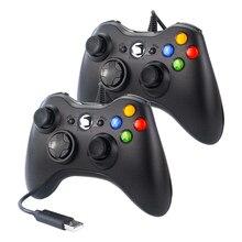 USB Wired Gamepad Joypad רטט בקר משחק ג ויסטיק למחשב פטל Pi 4 Retropie Retroflag NESPi SUPERPI מקרה