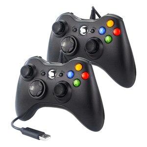 Image 1 - USB Wired Gamepad Joypad Vibration Game Controller Joystick for PC Raspberry Pi 4 Retropie Retroflag NESPi SUPERPI Case