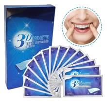 1 saco profissional de clareamento de dentes tira de clareamento de dente tira de branqueamento de dente mais branco listras clareamento de dente papel