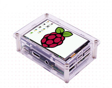 New 3.5 inch TFT LCD Touch Screen Display + Case Heat sink For Raspberry Pi 3B+ 3B