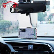 Neueste Rückspiegel Telefon Halterung Telefon Halter GPS Smartphone Halterung Einstellbare Unterstützung Auto Liefert