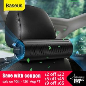 Автомобильный очиститель воздуха Baseus, автомобильный очиститель воздуха, освежитель воздуха, автораспылитель Pm2.5, Очищающий фильтр с активи...
