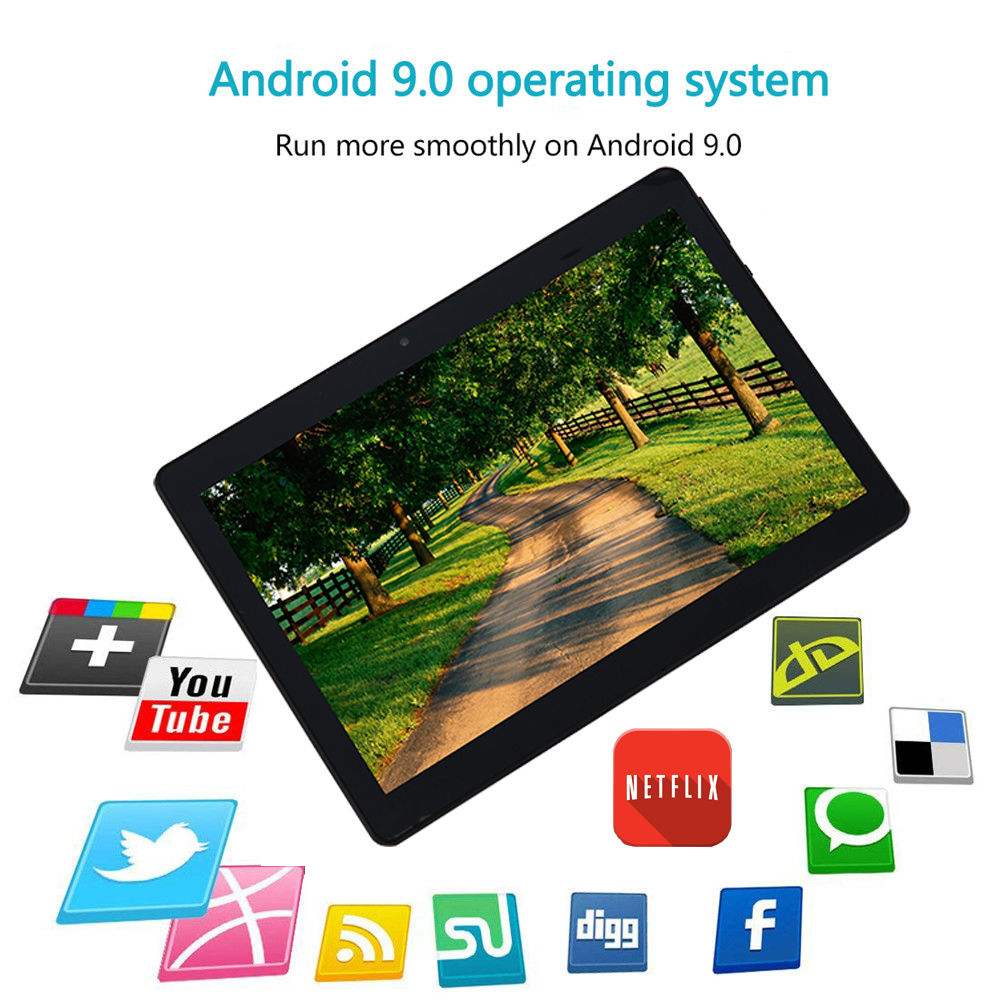 Android-Tablet-10-Inch-5G-WiFi-Tablet-32-GB-Storage-Google-Certified-Android-9-0-Go