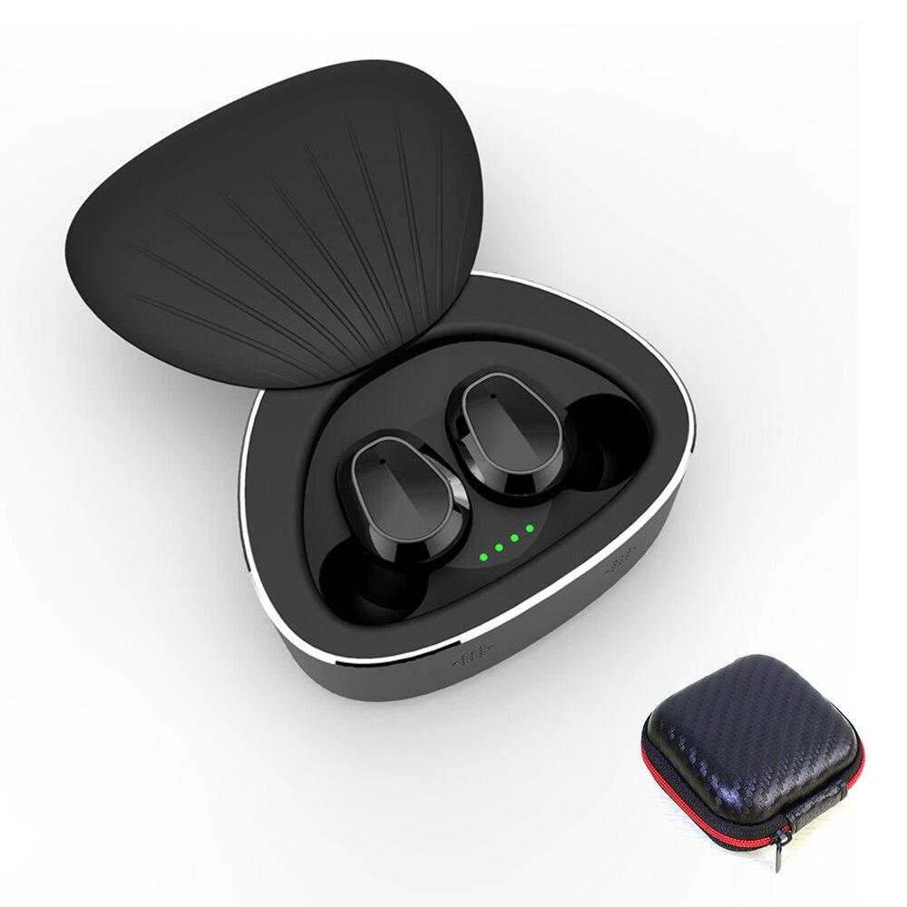 H3 TWS Wireless Bluetooth 5.0 Earbuds Waterproof scallop Headset Stereo HIFI Noise Reduction Sports Earphones