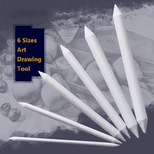 Art-Drawing-Tool Craft Pastel Stump Blending Smudge New Sketch 6pcs for Friends -P30