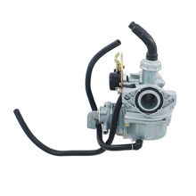 Motorcycle 19mm PZ19 Carburetor with hand choke Taotao Roketa 70cc-110cc Pit Bike Dirt Bike Motorcycle ATV Quad Monkey bike 1016(China)
