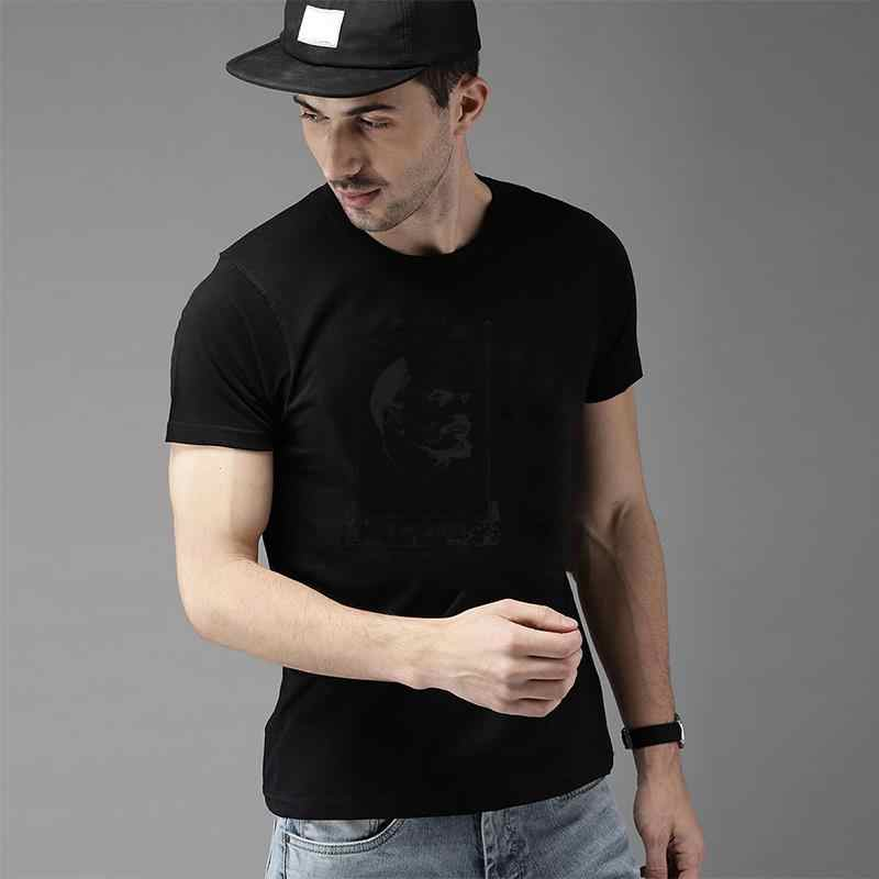 Diseño Lenin Black Head t shirt talla grande s ~ 115xL Comics Sailor Neck Hipster para hombre Camisetas