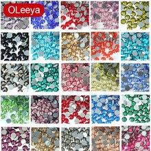 Wysokiej jakości стразы Hot Fix dżetów Flatback najlepsze szkło kryształowe poprawka Rhinestone brokat kryształy termoprzylepne do naprasowania odzieży E7037