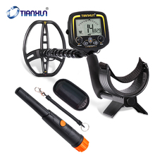 Handheld Detector TX-850 Portable High Sensitivity Underground Metal Gold Detector Depth 2.5m Hunter Finder LCD Display