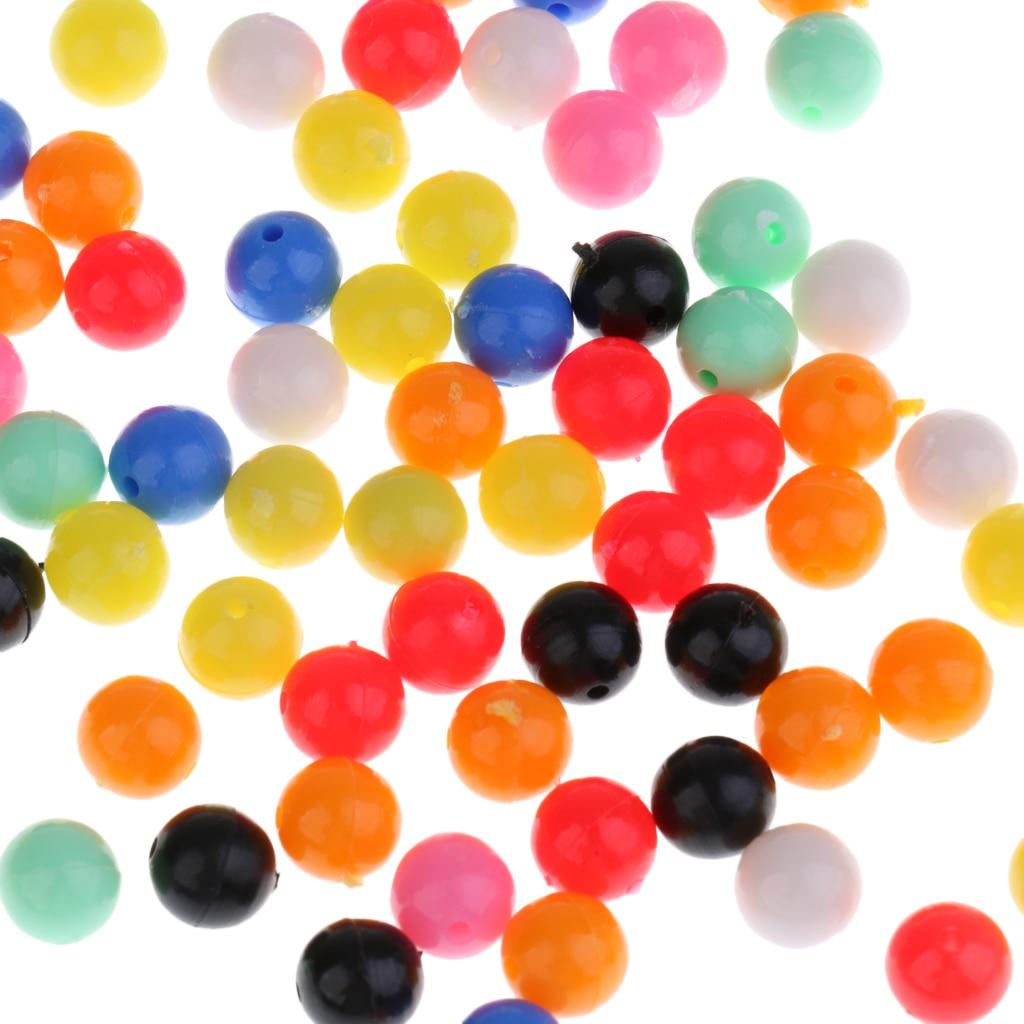 83.87руб. 35% СКИДКА|200 шт., разноцветные Круглые бусины для ловли карпа, 8 мм/6 мм, 0,24 дюйма/0,31 дюйма|Коробки для рыболовной снасти| |  - AliExpress