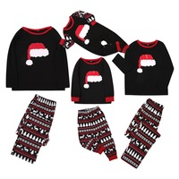 Mother Daughter Father Son Romper Sleepwear Fashion Plaid Printed Patchwork Family Matching Outfits Christmas Family Pajamas Set