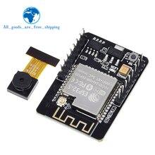 ESP32 CAM WiFi + Bluetooth מודול מצלמה מודול פיתוח לוח ESP32 עם מצלמה מודול OV2640 2MP עבור Arduino