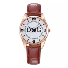 Kobiet Zegarka Luxury Top Women% 27 Часы Кожа Роза Золото Платье Женщины Часы Simple Fashion Ladies Watch Clock Hot Reloj Mujer