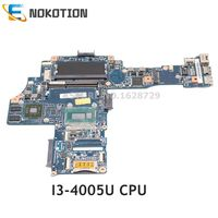 NOKOTION H000072060 CA10SUG CUG MB laptop motherboard Mainboard Para Toshiba Satellite L40-B L40 SR1EK I3-4005U cpu 1.7Ghz