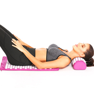 Image 2 - Massge Nóng 26*17 Inch Mat Xa Bấm Huyệt Giảm Lưng Đau Cơ Thể Thư Giãn Spike Thảm Mat Xa Thảm Tập Yoga có Gối