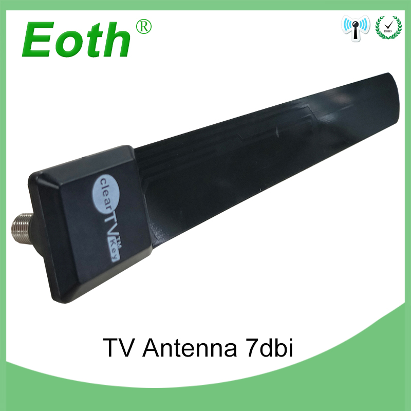 Antenne de télévision antenne numérique intérieure hdtv extérieure récepteur hqclear amplificateur de suralimentation extérieur dvb-t2 dtv dvb t2 signal de tv-4k para