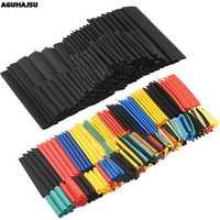 127 Pcs/328 Pcs Auto Elektrische Kabel Rohr kits Schrumpf Schlauch Schläuche Wrap Hülse Assorted 8 Größen Gemischt farbe