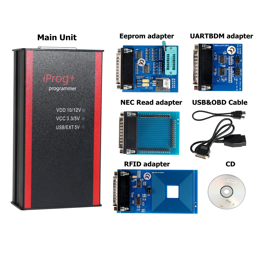 Image 5 - Newest V77 iPROG+ Prog Programmer iProg Supports IMMO/Mileage Correction/Airbag Reset Replace Carprog/Digiprog/Tango CAN/Kline-in Air Bag Scan Tools & Simulators from Automobiles & Motorcycles
