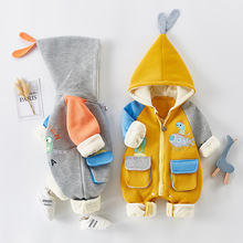 Infant Clothing Baby Girl Boys Clothes Autumn Spring Newborn Baby Rompers for Baby Jumpsuit Overalls 0-2 Year Newborn Baby Coat