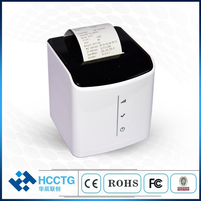 Imprimante thermique de billet de Point de vente d'ordinateur de bureau pour l'impression de reçu de facture HCC-POS58D-U